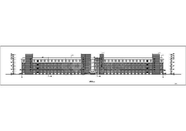 某人民公司四层医院楼建筑设计施工图墙面实验室病房六合无绝对图片