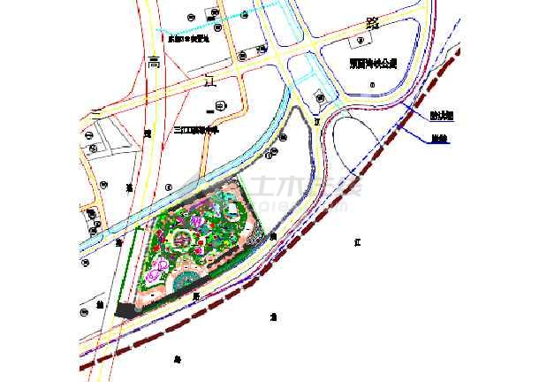 公园游乐园总图规划设计