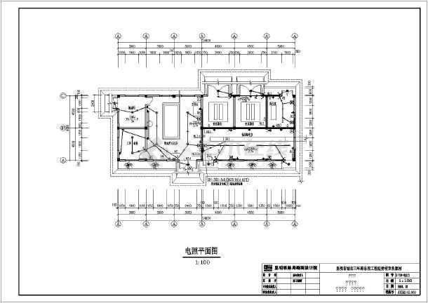 昆明市某路段雨水泵站电气设计施工图图片