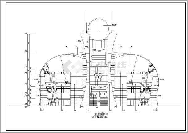 简介:   该图纸为某中学三层框架结构体育馆建筑设计施工图,地下一层图片
