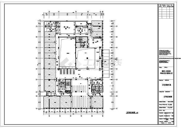 某地住院部大楼室内装修设计施工图图片