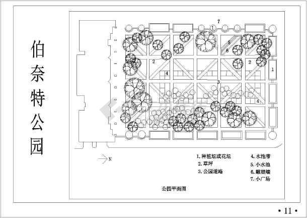 园林苗圃规划设计图