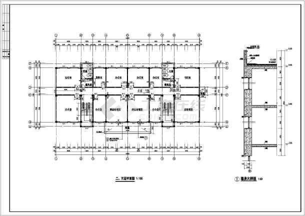 楼建筑施工图设计