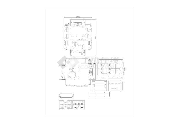 板式换热器设计设备结构图