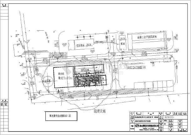 中水回用处理系统超级完整设计图纸-图3