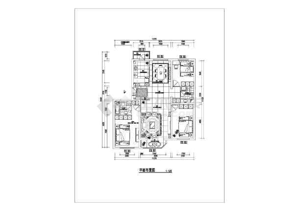 三室两厅•平面图•住宅楼•节点图•水电 分享至