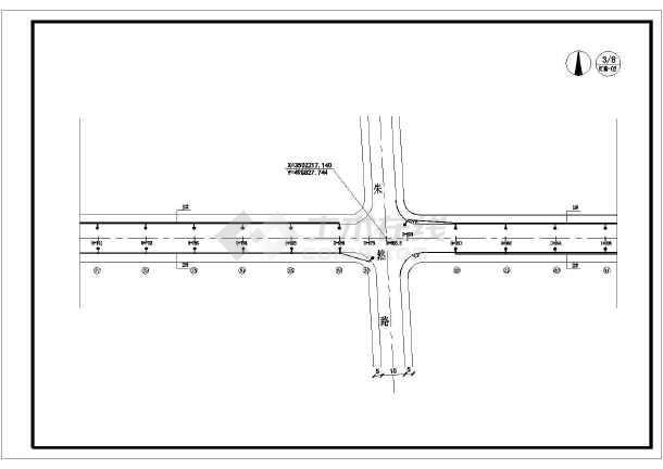 城市道路路灯设计图(含设计说明)