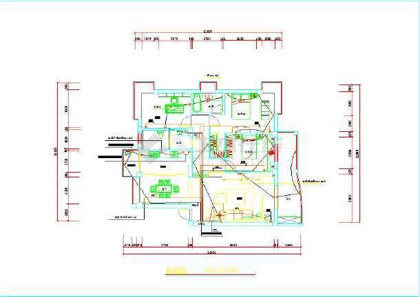套房装修水电图纸图片2