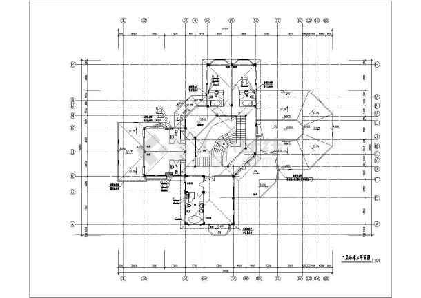 某地二层农家室内给排水设计施工图图片3