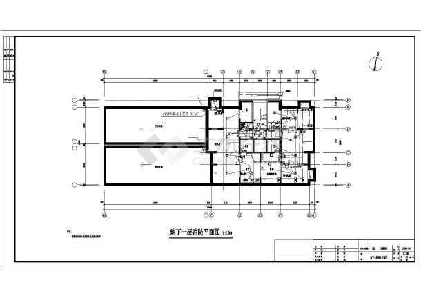 某11层框架式结构住宅楼电气设计图