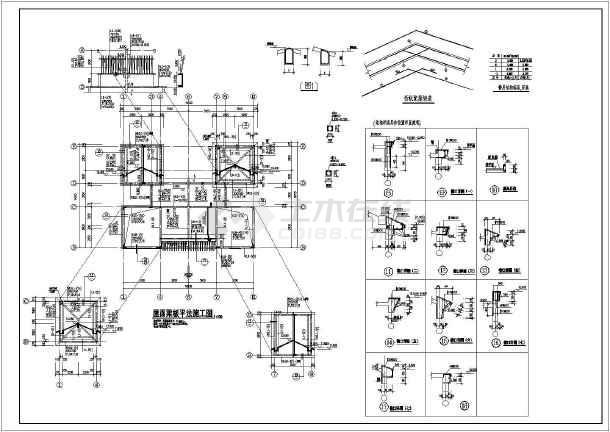 基础梁平法施工图,钢筋混凝土