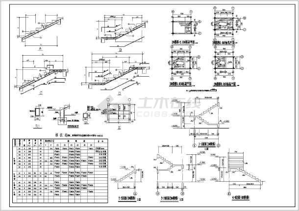 包括基础结构平面图,基础梁平法施工图,钢筋混凝土基础表,柱定位及平