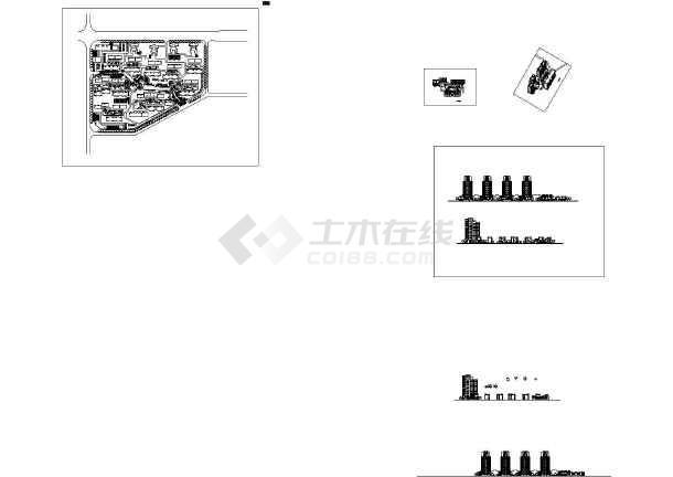 套型总平面图立面图透视图手腕放大图纸设计节点防御魔兽世界小区魔附图片