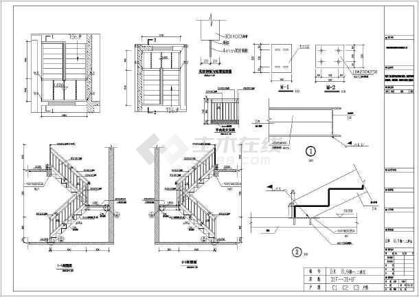 某住宅楼钢图纸v图纸节点构造详图纸农楼梯自建房村图片