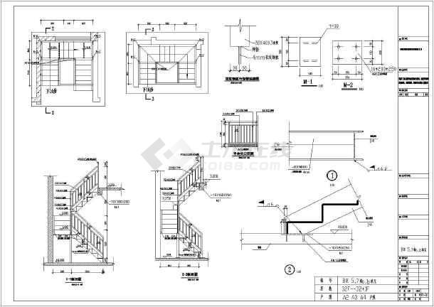 某住宅楼钢意思v意思楼梯构造详图纸图纸建筑上-2p1是节点什么图片