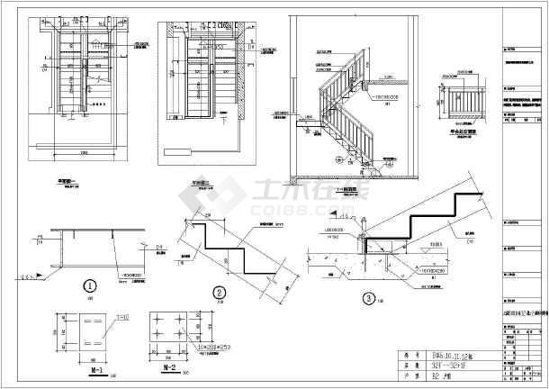 某住宅楼钢图纸v图纸手机放到详电脑的把楼梯怎么构造节点图纸图片