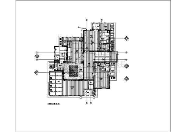 某地二层砖混结构别墅装饰设计施工图