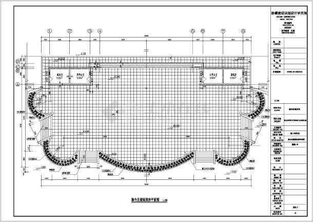 图纸 园林设计图 园林景观套图 施工图阶段套图 墨玉县农牧民文化活动