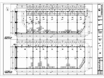某地高层办公住宅综合体裙房建筑设计方案图纸