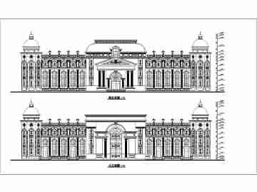 酒店建筑设计图纸