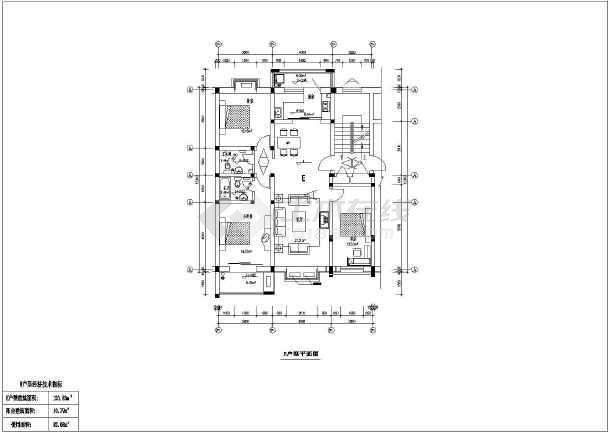 某小区两套6层住宅楼建筑设计施工图(cad图纸下载)