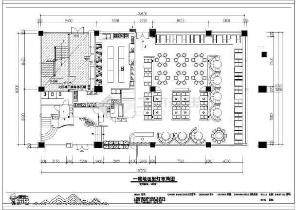 老长沙湘菜馆饭店装修设计施工图纸图片