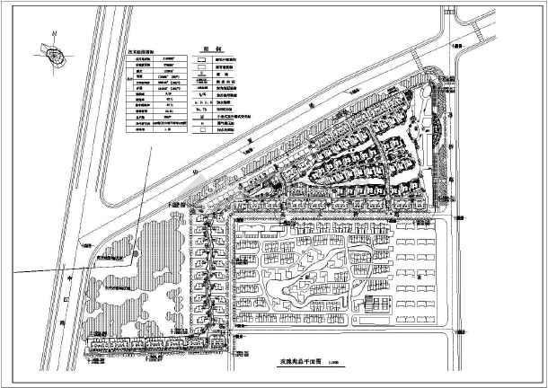 住宅区规划图