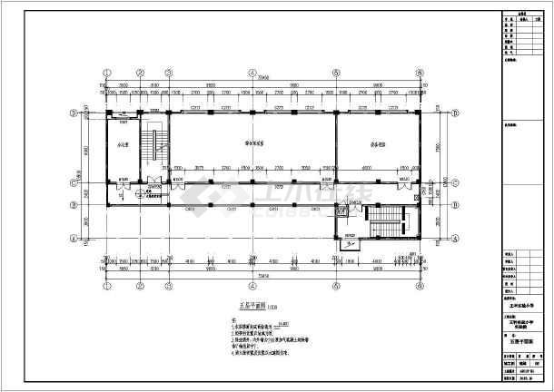 邯郸市某实验小学建筑设计图