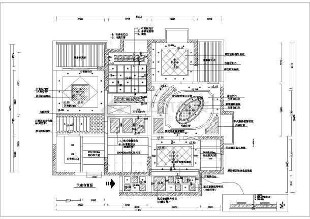 图纸 装修设计 别墅装修 欧式别墅装修 古典风格双层洋房装修设计图
