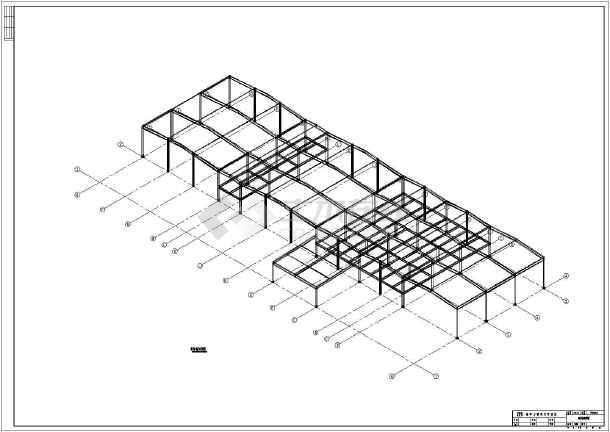 一汽大众4s店钢结构施工图
