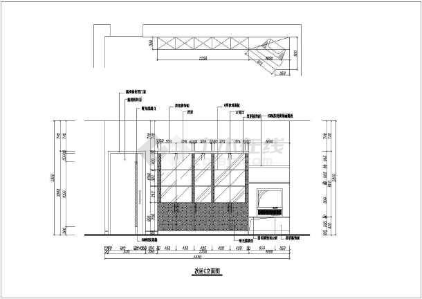 某中型小区三室两厅家装设计图