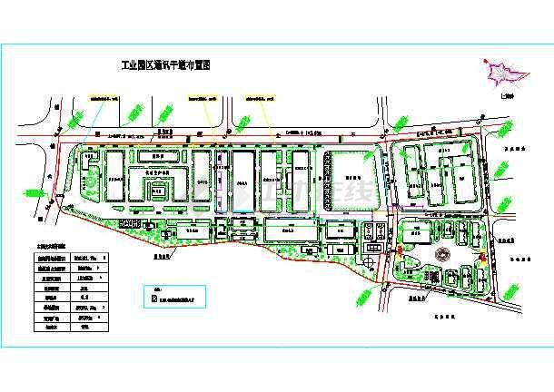 某工厂车间规划总平面图纸
