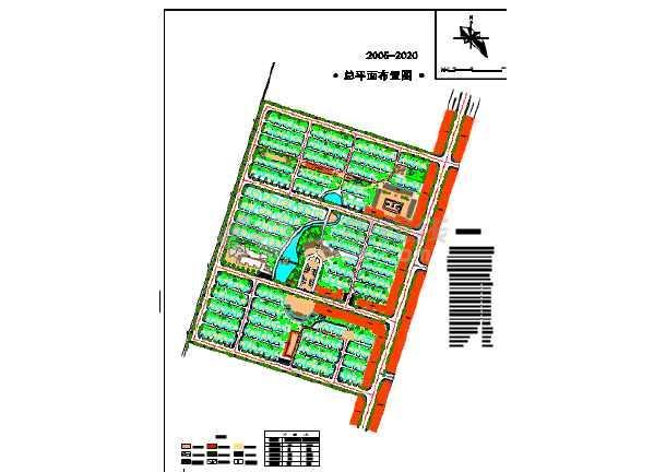 农村房屋建设平面图