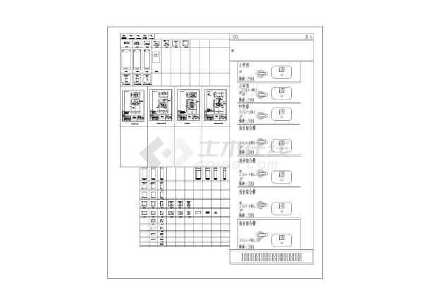非常实用的CAD标准设计图例常用图电气绘图图纸大葫芦全集图片
