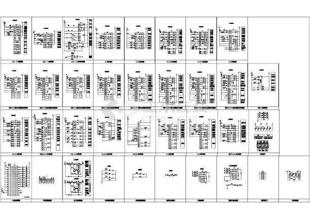 非常实用的CAD全都闭合标准常用图图例绘图cad先设计电气怎样图纸把图片