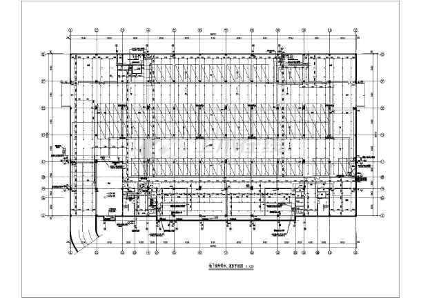 车 交易大厅 给排水施工图 cad 图纸