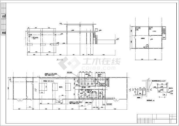 某地六吨燃油锅炉房全套设计图纸(含油罐等)图片