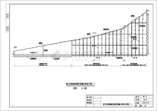 重力式挡墙•平面布置图•结构施工图•锚杆挡墙&bull