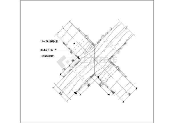 某景观亭结构大样图及详图(布局出图)