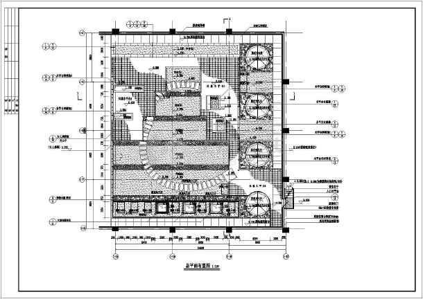 园林绿化图纸中屋顶花园v图纸说明工程图纸豆拼画图片