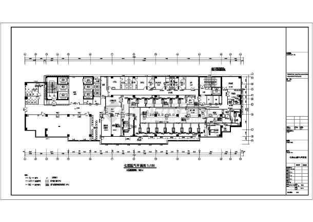 某地医院产科及icu净化气体设计施工图 (610x432)-icu设计图 icu设