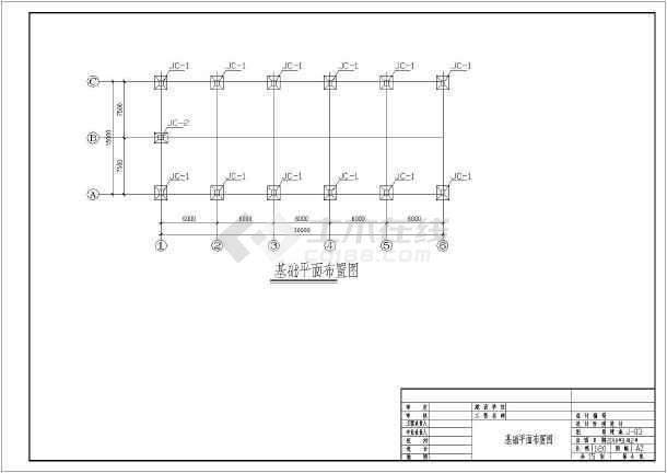 某轻钢结构羽毛球馆结构设计图