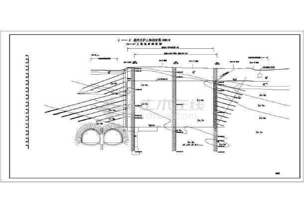 •设计说明•锚杆挡墙•施工图•深基坑•平面