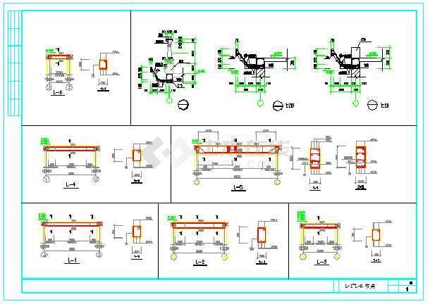 新型图纸三层别墅图纸CAD农村制作住宅建筑设计单体方案图片