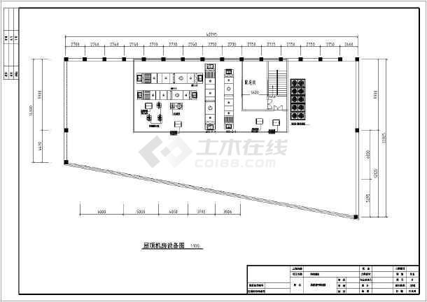 山东某医院动物实验室净化空调设计施工图