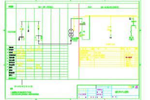 250kVA欧式图纸cadv图纸箱变图纸电气相关计算请问sr图片