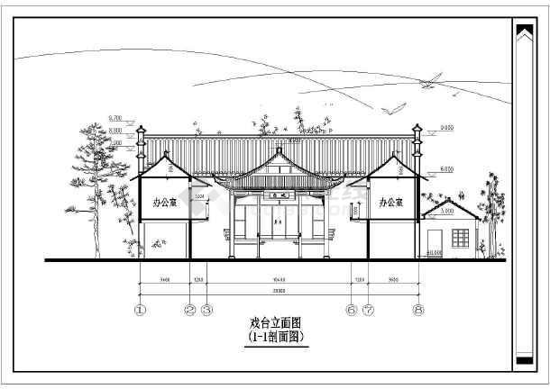 农村祠堂设计_广西农村祠堂设计其他建筑设计