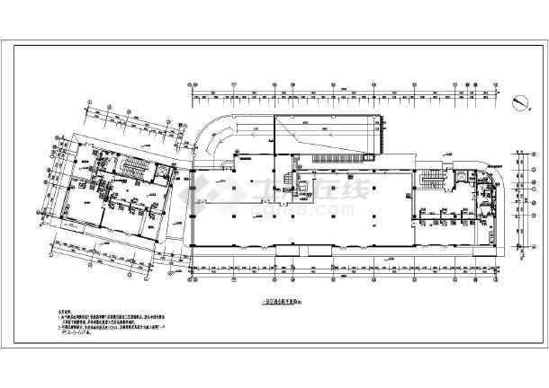 酒店宾馆空调设计图(酒店空调设计图)  【陕西】五层商务酒店风机盘管