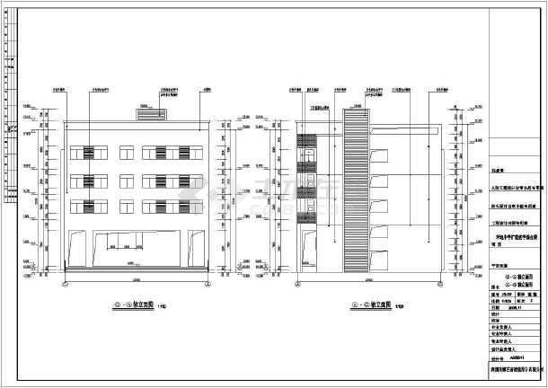 各立面图,各剖面图,楼梯详图,节点详图,门窗表,门窗大样,卫生间平面图片