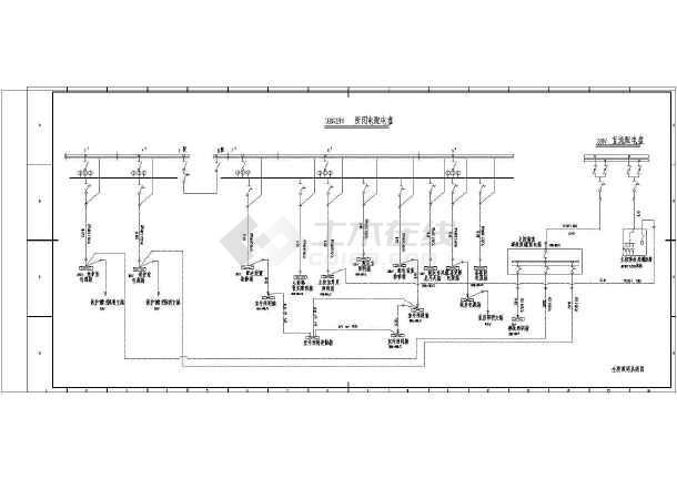 某地区风电场升压站电气全套设计图纸图片